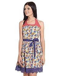 remanika Ladies Halter Neck Cotton DRESS 8903190396835