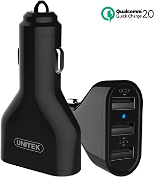 Unitek Y-P527 3-Port USB Car Charger