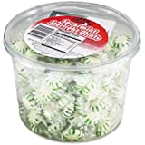 Office Snax® Starlight Mints, Spearmint Hard Candy, Indv Wrapped, 2lb Tub