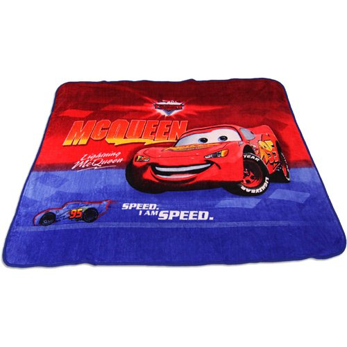 Disney Cars Micro Fleece Deluxe Throw Blanket