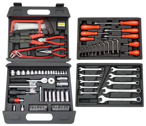 FAMEX 255-76 156-Piece Tool Kit