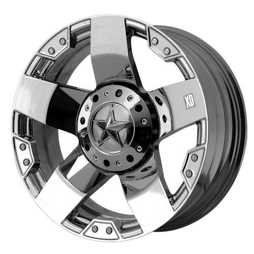 20x10//8x6.5 XD-Series Rockstar XD775 Matte Black Wheel