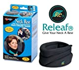 Caldera Releaf Neck Rest, Large, Black