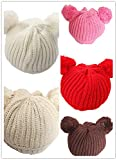 BuyHere Cute Unisex Baby Cap Knitting Hat Pack of 5 pc