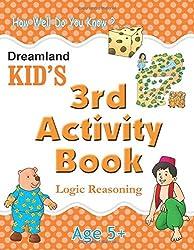 3rd Activity Book - Logic Reasoning (Kids Activity Books)