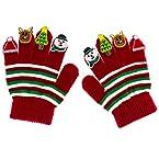 Christmas Applique Gloves