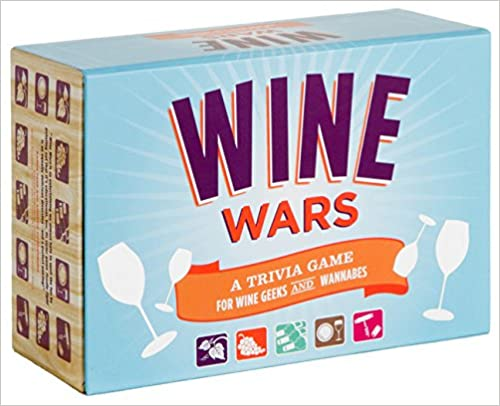 Wine Wars - A Game for Wine Geeks & Wannabees