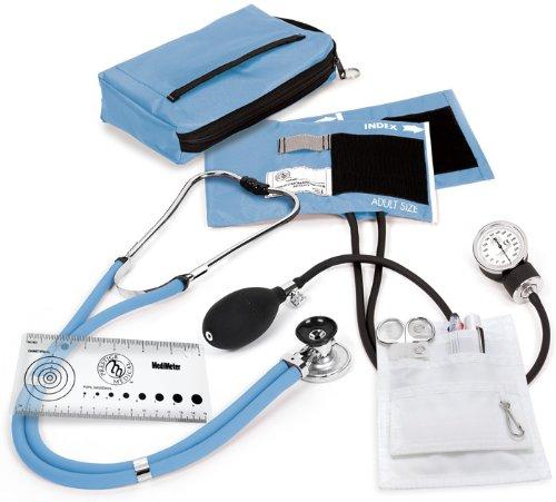 Cheap Prestige Medical Sprague/Sphygmomanometer Nurse Kit, Ciel Blue (A5-CBL)