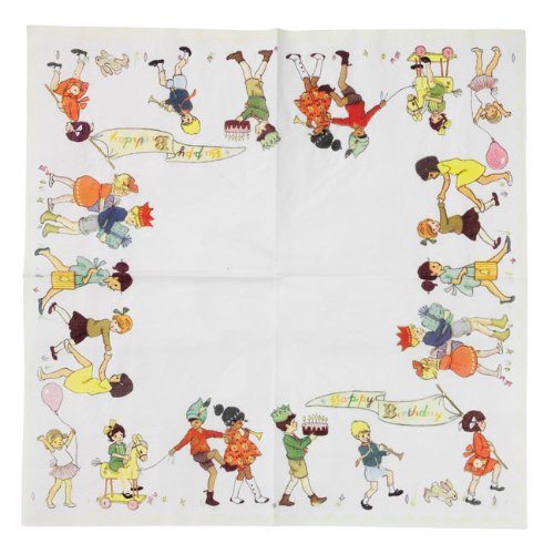 Talking Tables Belle and Boo 3-Ply Napkins, Pack of 20