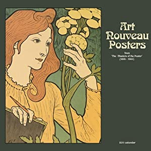 "Art Nouveau Posters (Vintage Advertising Posters) Wall Calendar 2011 (Size 12"" X 12"")"