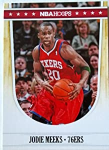 2011-12 Panini Hoops #187 Jodie Meeks Trading Card in a Protective Case by Hoops