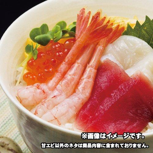 寿司の定番!甘エビ丼(殻取り済み)