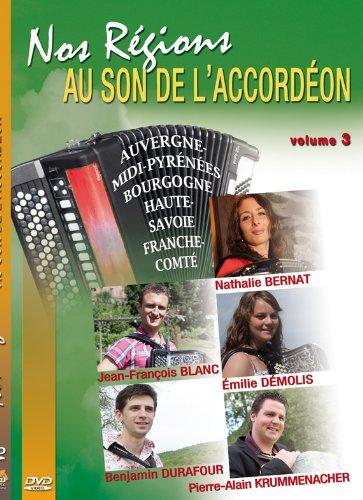 Nos régions au son de l'accordéon vol. 3