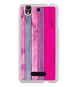 Wooden Colourful Pattern 2D Hard Polycarbonate Designer Back Case Cover for YU Yureka :: YU Yureka AO5510
