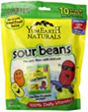 YumEarth Natural Sour Jelly Beans, 10 Count (Pack of 12)