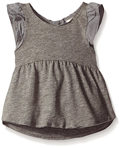 Roxy Baby Swing Tee, Heritage Heather, 18 Months