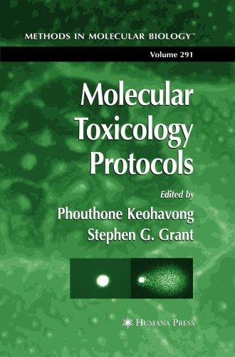 Molecular Toxicology Protocols (Methods in Molecular Biology) (Volume 291) PDF