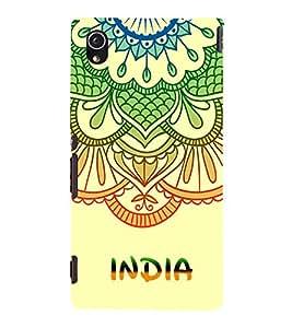 India is Great 3D Hard Polycarbonate Designer Back Case Cover for Sony Xperia M4 Aqua :: Sony Xperia M4 Aqua Dual