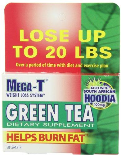 Mega-T Green Tea, 30 Caplet