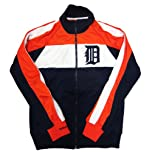 Mitchell & Ness Detroit Tigers Color Block Track Jacket by Mitchell & Ness