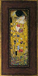 Gustav Klimt The kiss Pictures Famous picture series