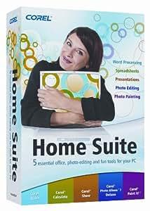 Corel Home Suite: Corel Write, Calculate, Show, Photo Album 7 Deluxe & Paint It