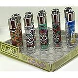 Bundle - 4 Items - Clipper Lighter Sugar Skulls