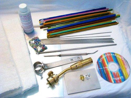 Devardi Glass Lampwork, Beadmaking Starter Kit - Basic (Glass Blowing Starter Kit compare prices)