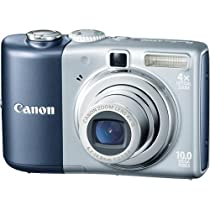 Canon Powershot A1000IS 10MP Digital Camera with 4x Optical Image Stabilized Zoom (Blue)