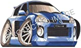 Koolart Car Tax Disc Holder Renault Clio V6