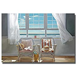 Companions by Karen Hollingsworth Premium Gallery-Wrapped Canvas Giclee Art (Ready-to-Hang)