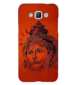 Lord Narasimha Hanuman 3D Hard Polycarbonate Designer Back Case Cover for Samsung Galaxy Grand 3 G720 :: Samsung Galaxy Grand Max G720