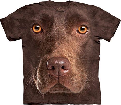 Big Face T-shirt Labrador - Medium
