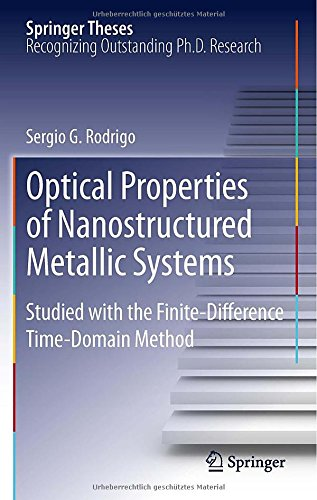 Optical Properties Of Nanostructured Metallic Systems: Studied With The Finite-Difference Time-Domain Method (Springer Theses)