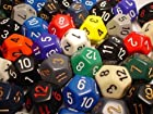 Chessex Bulk Dice Sets: Assorted Opaque d12 Bag (50)