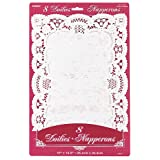 8 Count Placemat Doilies, White