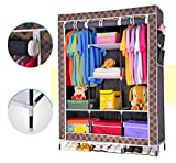 Evana Folding Storage Rack Collapsible Cabinet Almirah (123.00 CM)