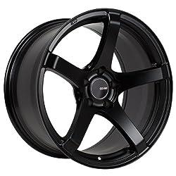 17×9 Enkei Kojin (Matte Black) Wheels/Rims 5×114.3 (476-790-6545BK)