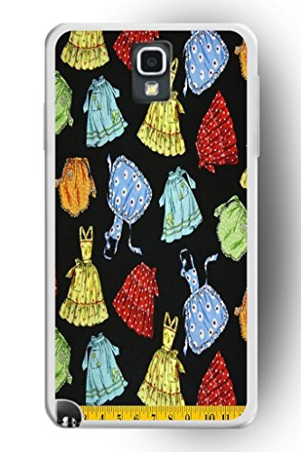 Sprawl Beautiful Vintage Design Hard Shell For Samsung Galaxy Note 3 Hard Plastic Back Case For Women -- Teenage Girl Short Skirt And One-Piece Dress