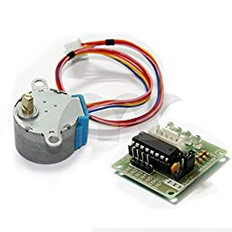 Eztronics Corp® DC 5V Stepper Step Motor + Driver Test Module Board ULN2003 For Arduino