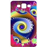 Abstract Spiral Geometric Pattern Back Cover Case for Samsung Galaxy S3 / SIII / I9300
