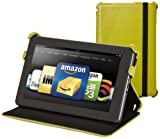 Kindle Fire Leather Case Cover by Marware, Green