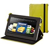 Kindle Fire Genuine Leather Cover by Marware, Green (does not fit Kindle Fire HD) ~ Marware
