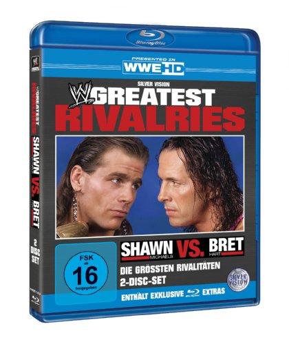 WWE - Die größten Rivalitäten: Shawn Michaels vs. Bret Hart (Blu-ray)
