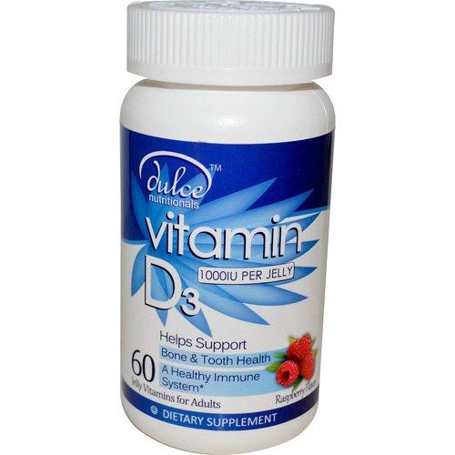 Vitamin D3 - 10,000 IU - Jelly Vitamins
