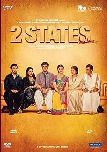 2 states hindi dvd bollywood film cinema movie 2013. Black Bedroom Furniture Sets. Home Design Ideas