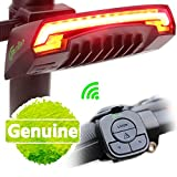 Meilan-Smart-Bike-Tail-Light-X5-USB-Rechargeable-with-Wireless-Remote-Turn-signals-Laser-Beams-for-Moutain-BikeBMX-BikeRoad-Bicycle-and-Hybrid-Bike-85-Lumens