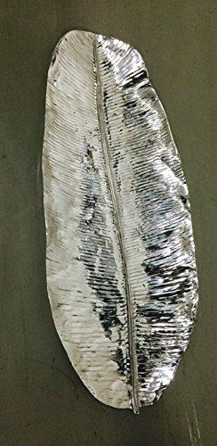 Pewter Large Leaf Tray