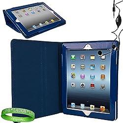 Mybat Folio Case For Ipad 2 (Blue)