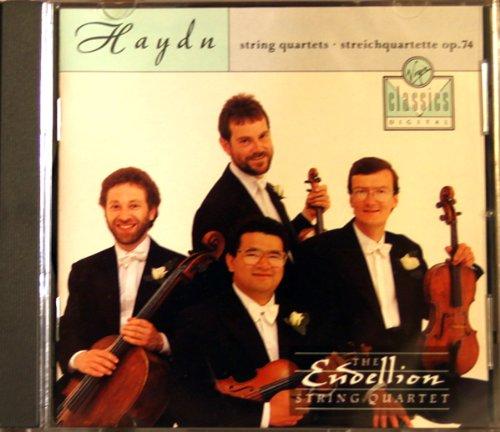 Haydn: String Quartet op 74 no 1 in C major, op 74 no 2 in F major, op 74 no 3 in G minor 'The Rider', Endellion String Quartet